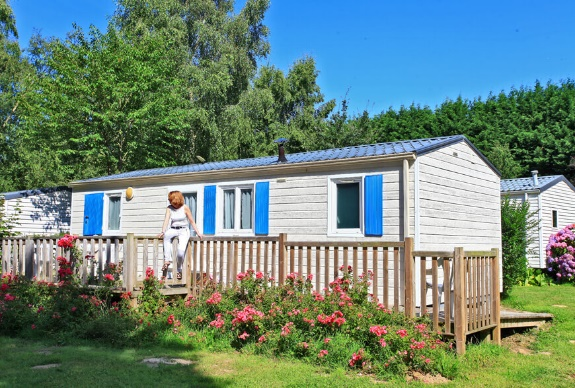 This mobile home is suitable for wheelchair users