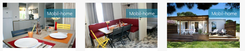 LOCATION MOBIL HOME – CAMPING LE FLORIDA